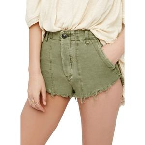 Free People Standoff Cutoff Shorts Size 6
